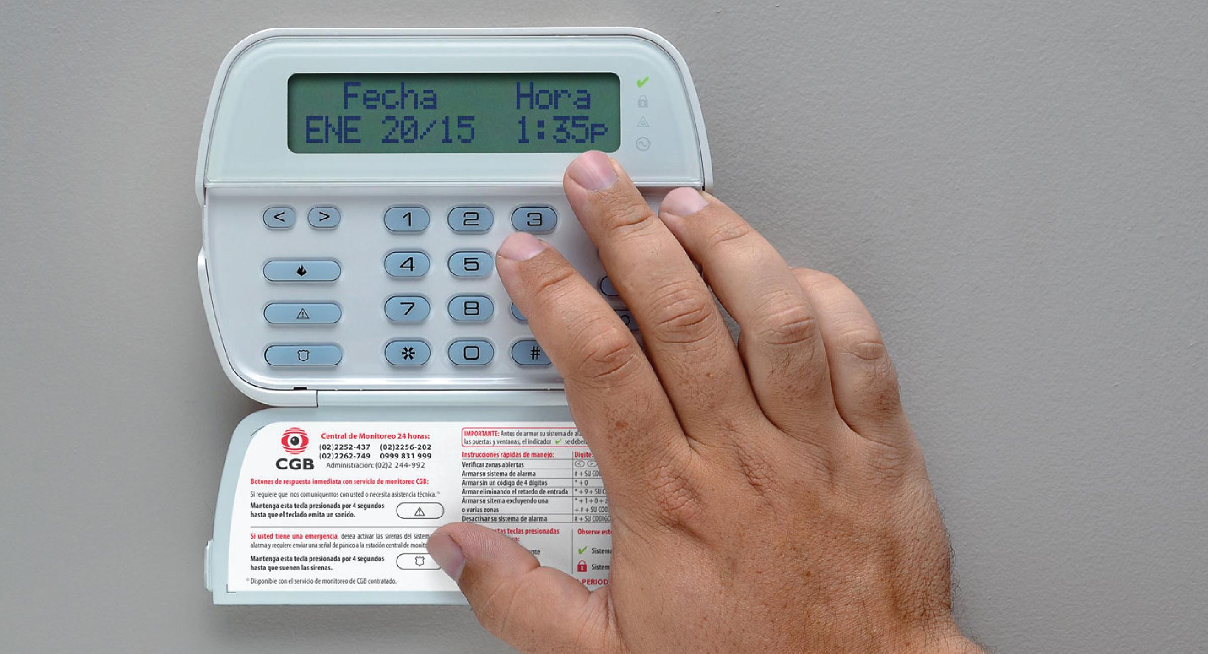 Alarmas de seguridad Alarma para casa y Comerciales en Guadalajara
