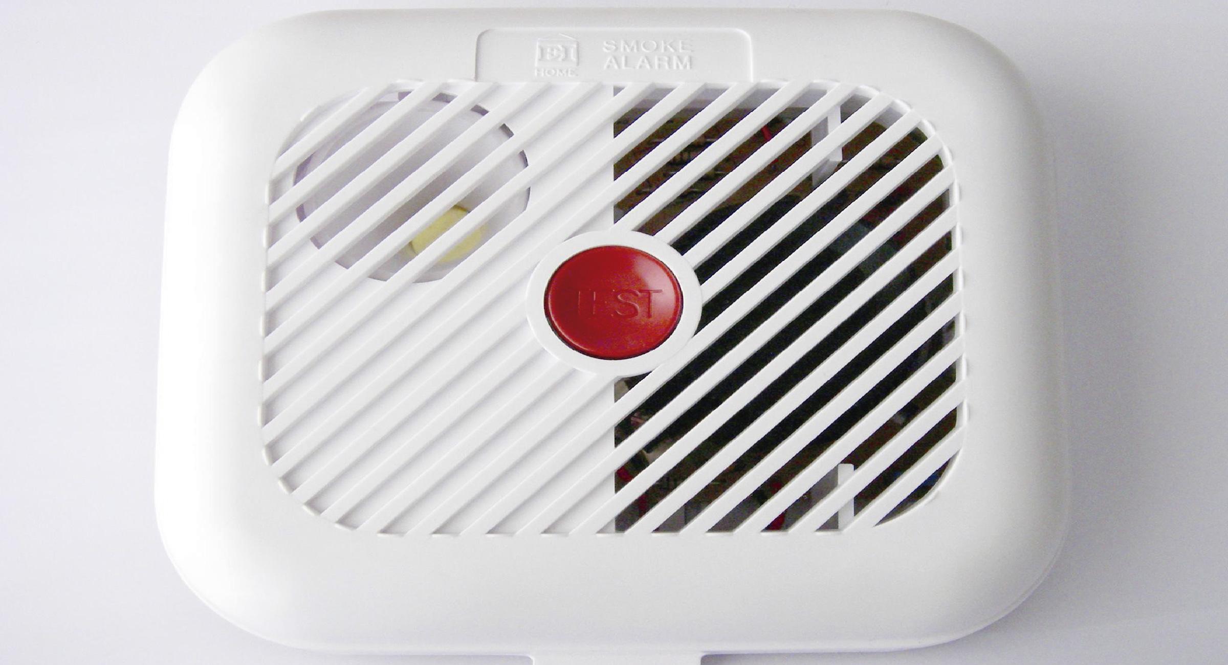 Alarmas de seguridad Sistema anti incendios Detector de Humo