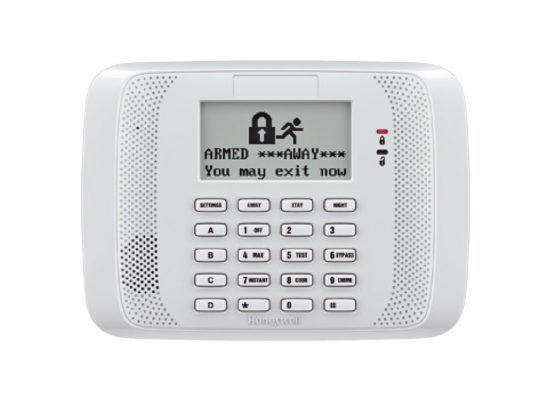Alarmas de seguridad Teclado Programador Alfanumérico con Receptor Inalámbrico